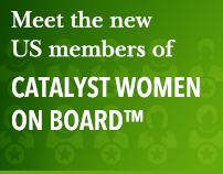 Meet the new US members of Catalyst Women on Board™