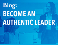 Blog: Become an authentic leader