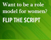Want to be a role model for women? Flip the Script