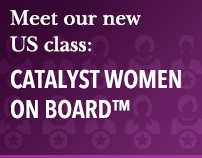 Meet our US new class: Catalyst Women On Board™