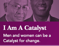 I Am A Catalyst: Men and women can be a Catalyst for change.