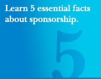 Learn 5 essential facts about sponsorship.