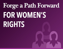 Forge a Path Forward for Women's Rights