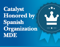 Catalyst Honored by Spanish Organization MDE