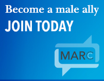 Become a male ally. Join MARC Today.