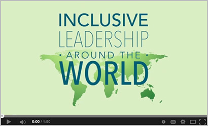 Inclusive Leadership Around the World video