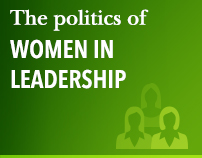 The politics of women in leadership