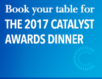 Book your table for the 2017 Catalyst Awards Dinner