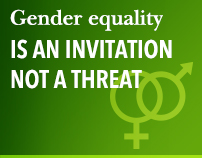 Gender equality is an invitation, not a threat