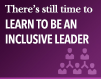 There's still time to learn to be an inclusive leader