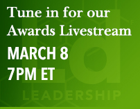 Tune in for our Awards Livestream—March 8, 7PM ET