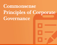 Commonsense Principles of Corporate Governance