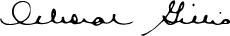 Deborah Gillis Signature