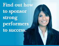 Find out how to sponsor strong performers to success.